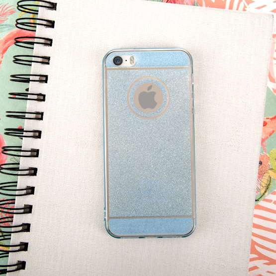 Caseflex iPhone 5 / 5s Flash Soft Case - Blue