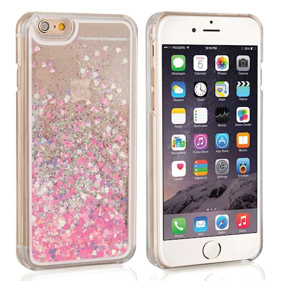 Caseflex iPhone 6 / 6s Quicksand Scale Hard Case - Pink