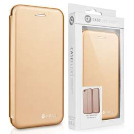 Caseflex iPhone 6 and 6s Leather-Effect Embossed Stand Wallet - Gold