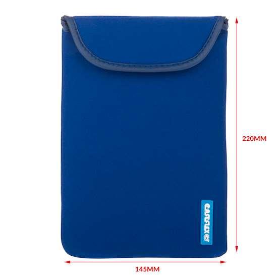 Caseflex Blue Neoprene Pouch - Tablet (S)