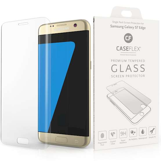 Caseflex Samsung Galaxy S7 Edge Screen Protector - Clear