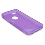 Caseflex iPhone 5c Silicone Gel S-Line Case - Purple