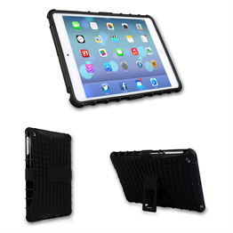 Caseflex iPad Mini 2 Tough Stand Cover - Black