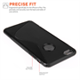 Caseflex iPhone 6 Plus and 6s Plus Silicone Gel S-Line Case - Black