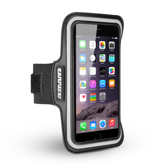 Caseflex iPhone 6 Plus and 6s Plus Armband - Black