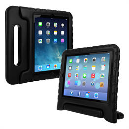 Caseflex Apple iPad 2,3,4 Silicone Handle - Black