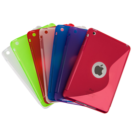 Caseflex Apple iPad Mini 2, 3 S-Line Gel Case - Red