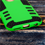 Caseflex iPhone 6 / 6s Border Combo Case - Green