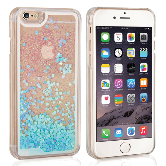 Caseflex iPhone 6 / 6s Quicksand Scale Hard Case - Blue
