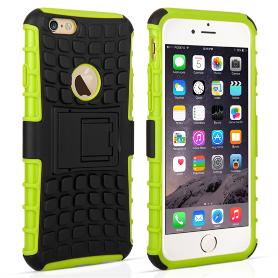 Caseflex iPhone 6 / 6s Kickstand Combo Case - Green