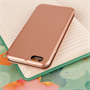 Caseflex iPhone 6 and 6s Leather-Effect  Stand Wallet with Felt Lining  - Gold