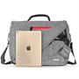 Caseflex Grey Laptop Shoulder Bag