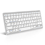 Caseflex iPad Air and Air 2 French Keyboard - Silver