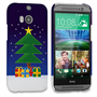 Caseflex HTC One M8 Christmas Tree & Presents Hard Case