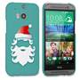 Caseflex HTC One M8 Christmas Santa Claus Hard Case