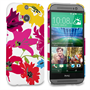 Caseflex HTC One M8 Retro Flower Bouquet Case