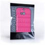 Caseflex HTC One M8 Fairisle Case – Pink and White