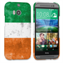 Caseflex HTC One M8 Retro Ireland Flag Case