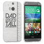 Caseflex HTC One M8 Dad Growing Up Quote Case/Cover