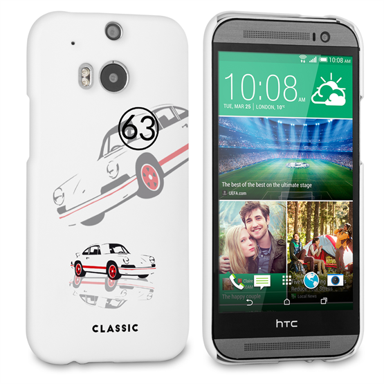 Caseflex Porsche Classic Car HTC One M8 Case