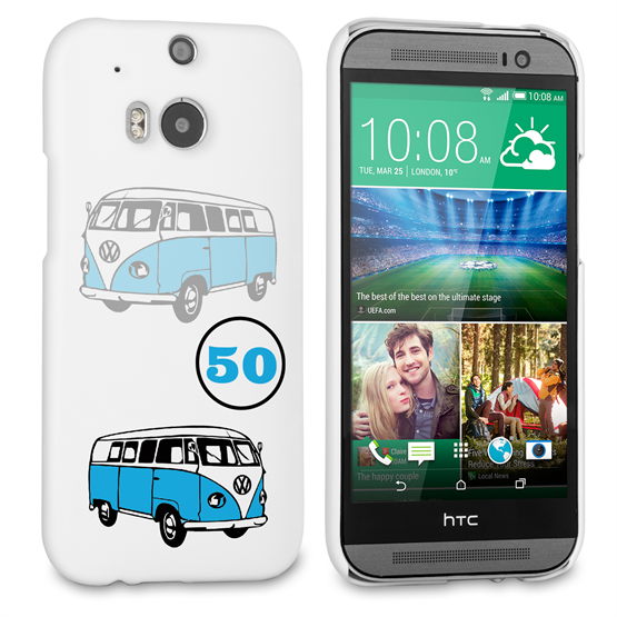 Caseflex VW Camper Van Classic Car HTC One M8 Case