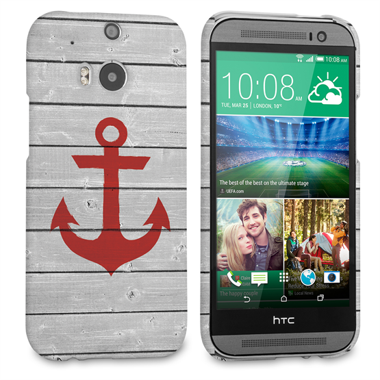 Caseflex HTC One M8 Rustic Anchor Case