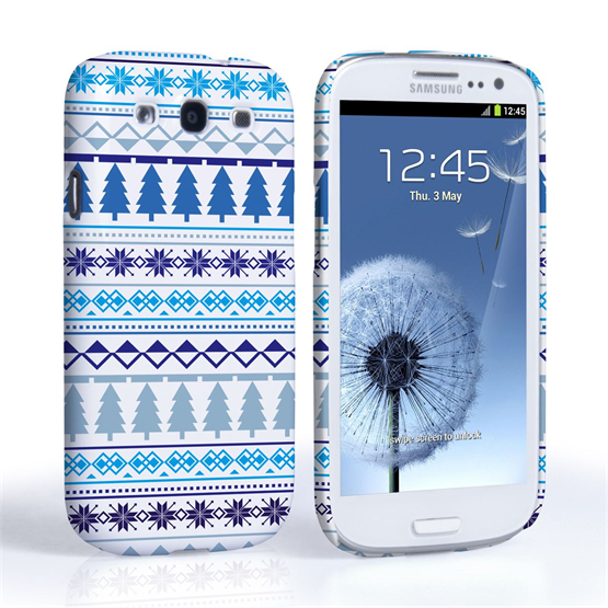 Caseflex Samsung Galaxy S3 Christmas Tree Pattern Case