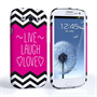 Caseflex Samsung Galaxy S3 Live Laugh Love Heart Case