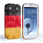 Caseflex Samsung Galaxy S3 Retro Germany Flag Case