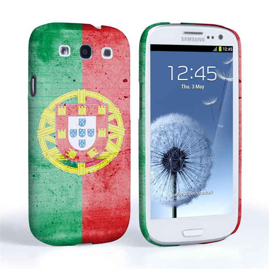 Caseflex Samsung Galaxy S3 Retro Portugal Flag Case