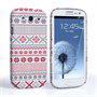 Caseflex Samsung Galaxy S3 Fairisle Case – Red, White and Grey