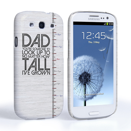 Samsung Quote Delectable Caseflex Samsung Galaxy S3 Dad Growing Up Quote Casecover