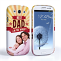 Caseflex Samsung Galaxy S3 Best Dad in the World (Red) Case/Cover