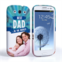 Caseflex Samsung Galaxy S3 Best Dad in the World (Blue) Case/Cover