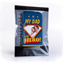 Caseflex My Dad, My Hero Customised Photo Samsung Galaxy S3 Case – Blue