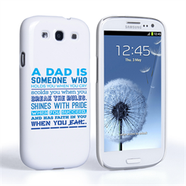 Caseflex Definition of a Dad Quote Samsung Galaxy S3 Case