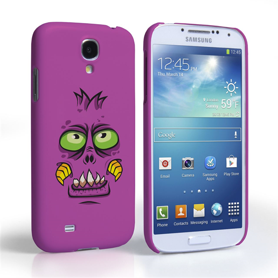 Caseflex Samsung Galaxy S4 Purple Monster Hard Case