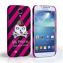 Caseflex Samsung Galaxy S4 Striped Cartoon Skull Hard Case