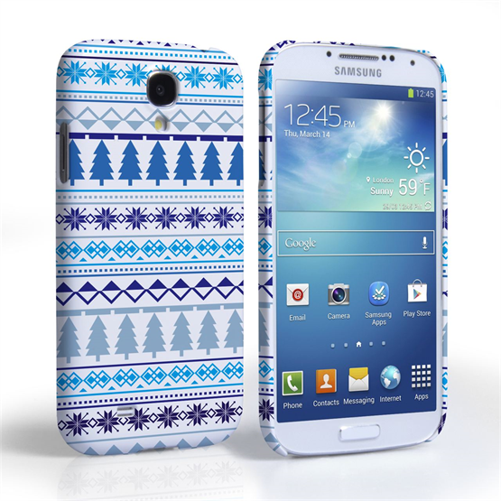 Caseflex Samsung Galaxy S4 Christmas Tree Pattern Case