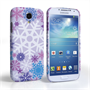 Caseflex Samsung Galaxy S4 Winter Christmas Snowflake Cover – Purple