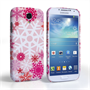 Caseflex Samsung Galaxy S4 Winter Christmas Snowflake Cover – Red