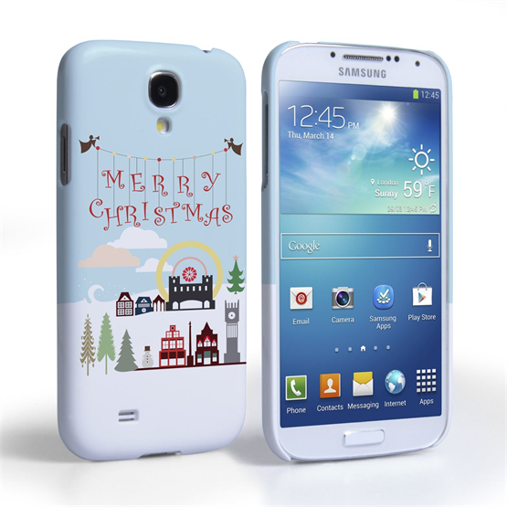 Caseflex Samsung Galaxy S4 Merry Christmas Case