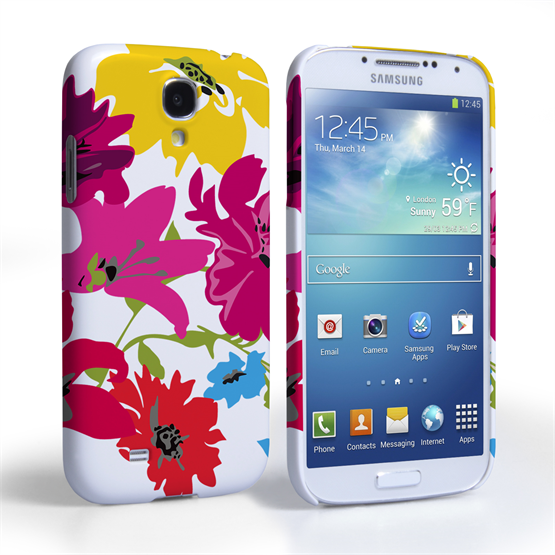 Caseflex Samsung Galaxy S4 Retro Flower Bouquet Case