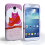 Caseflex Samsung Galaxy S4 Mummy Owl Hard Case – Purple and Pink