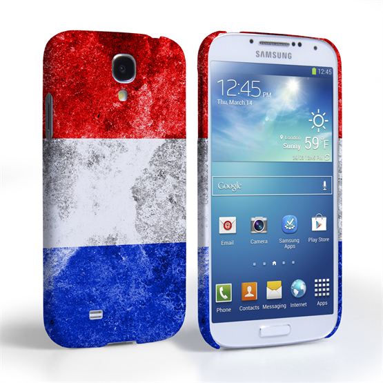 Caseflex Samsung Galaxy S4 Retro Holland Flag Case