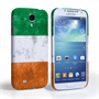 Caseflex Samsung Galaxy S4 Retro Ireland Flag Case