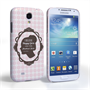 Caseflex Samsung Galaxy S4 Audrey Hepburn 'Happy Girls' Quote Case