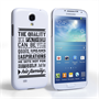 Caseflex Father Family Quote Samsung Galaxy S4 Case
