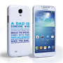 Caseflex Definition of a Dad Quote Samsung Galaxy S4 Case