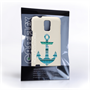 Caseflex Samsung Galaxy S5 Aztec Blue Anchor Case